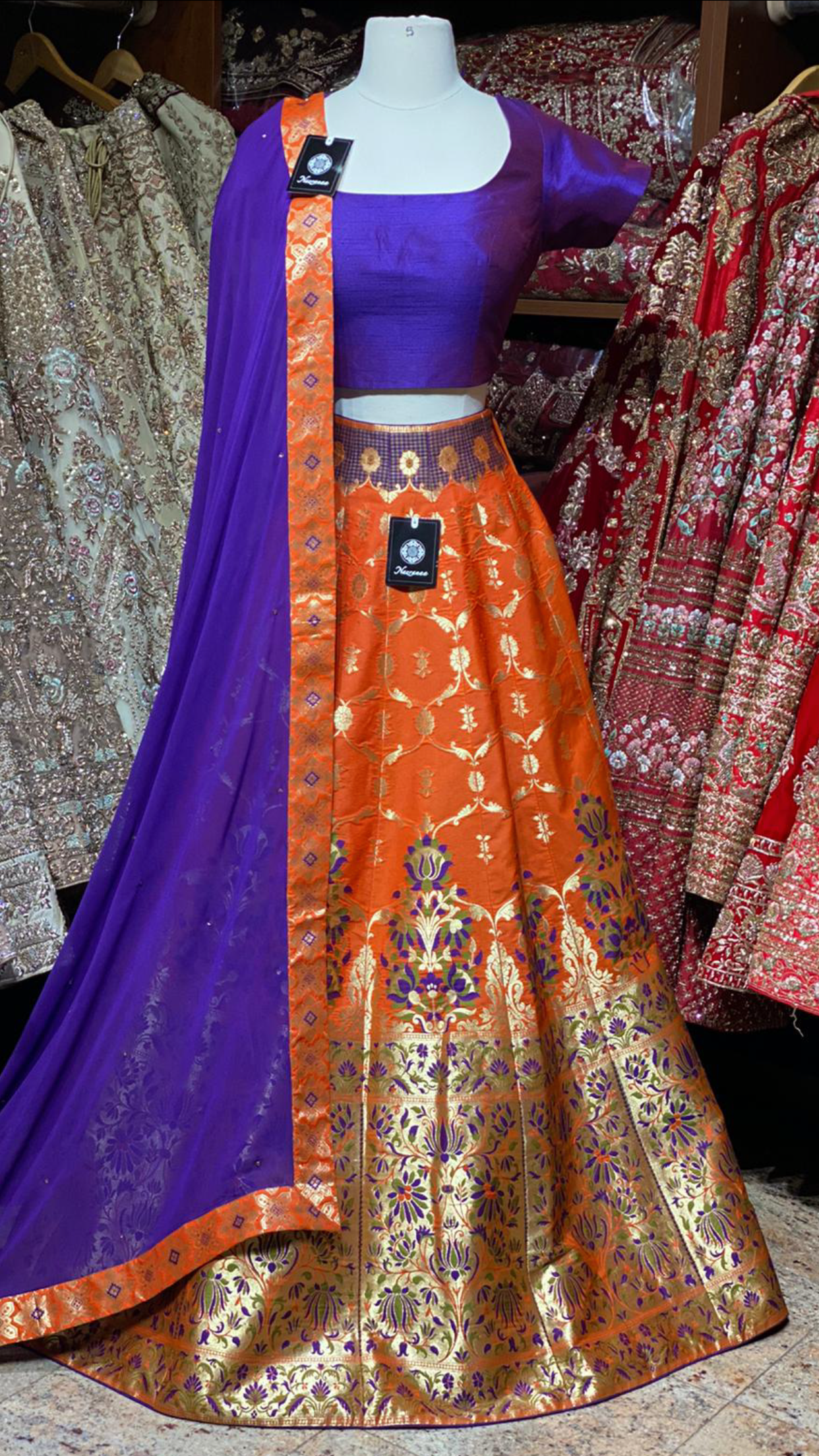 The Fall 2020 Banarasi Lehenga Collection BL-11