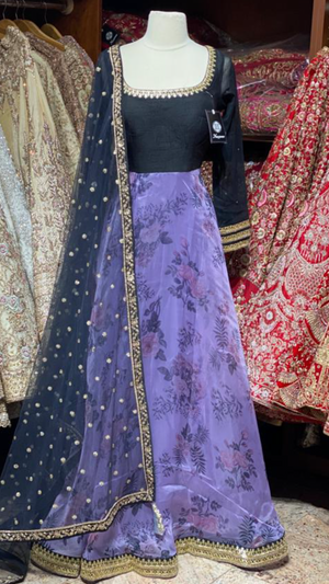 The 2020 Fall Anarkali Collection