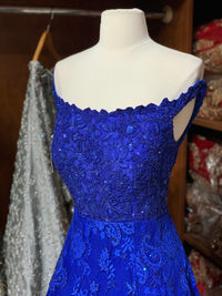 Royal Blue Size 38 Gown