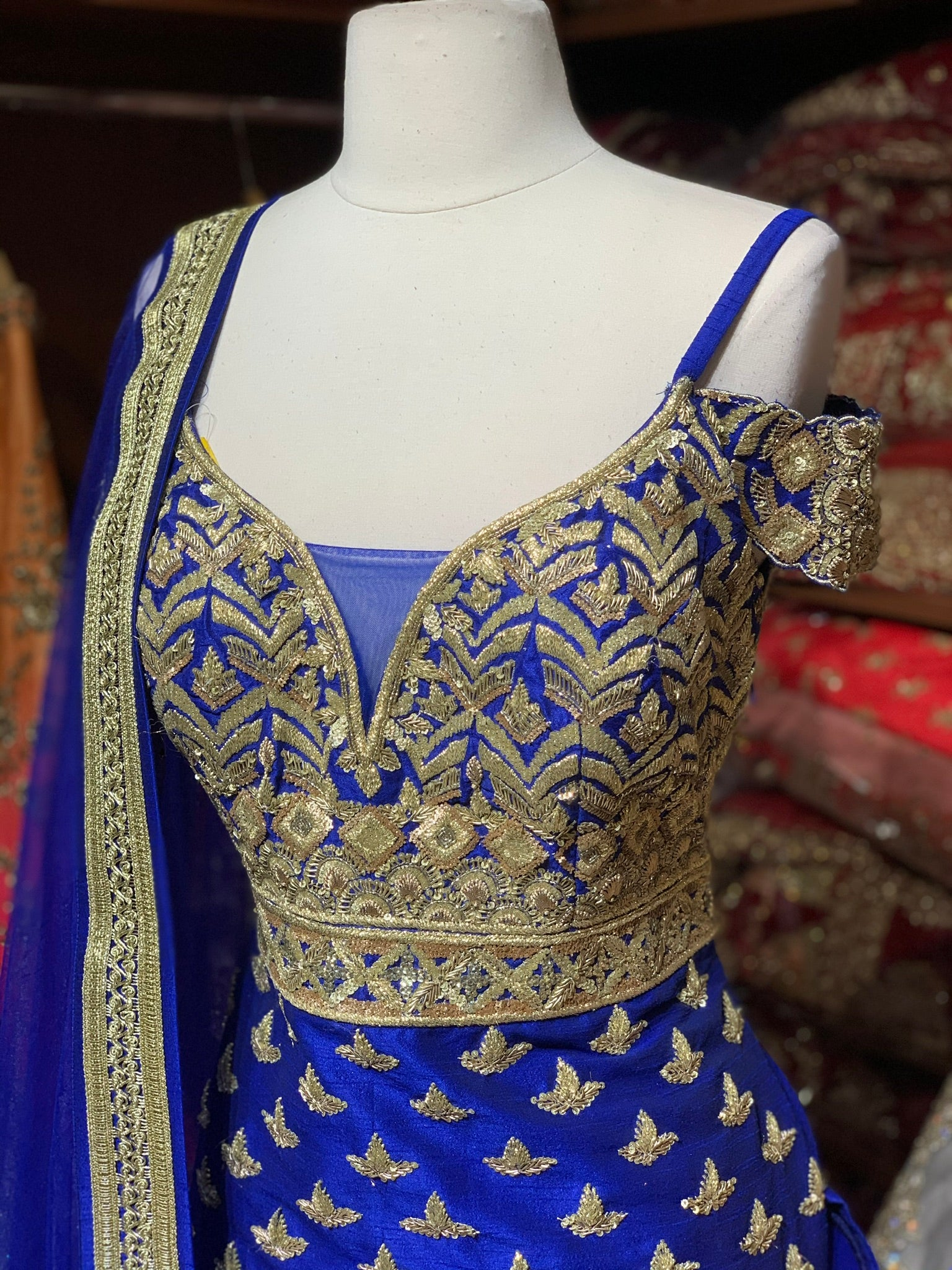 Royal Blue Size 38 Sharara