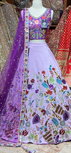 Amethyst Purple Party Wear Lehenga PWL-026