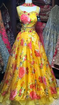 The Daisy Lehenga-PW55