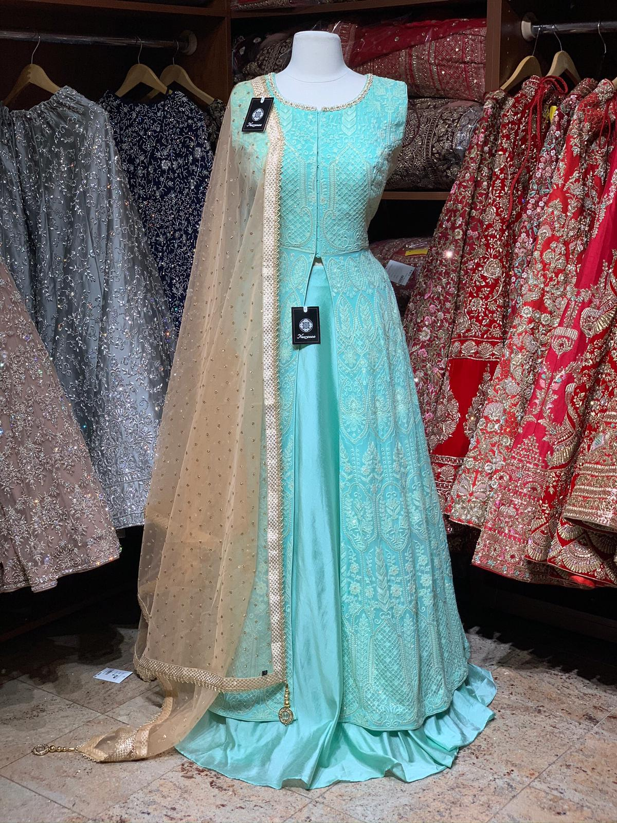 Aqua Blue Lacha Collection