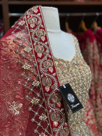 Dazzling Gold & Red Lacha Collection PL-006