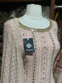 Blush Pink XXL Party Wear Suit PWS-012