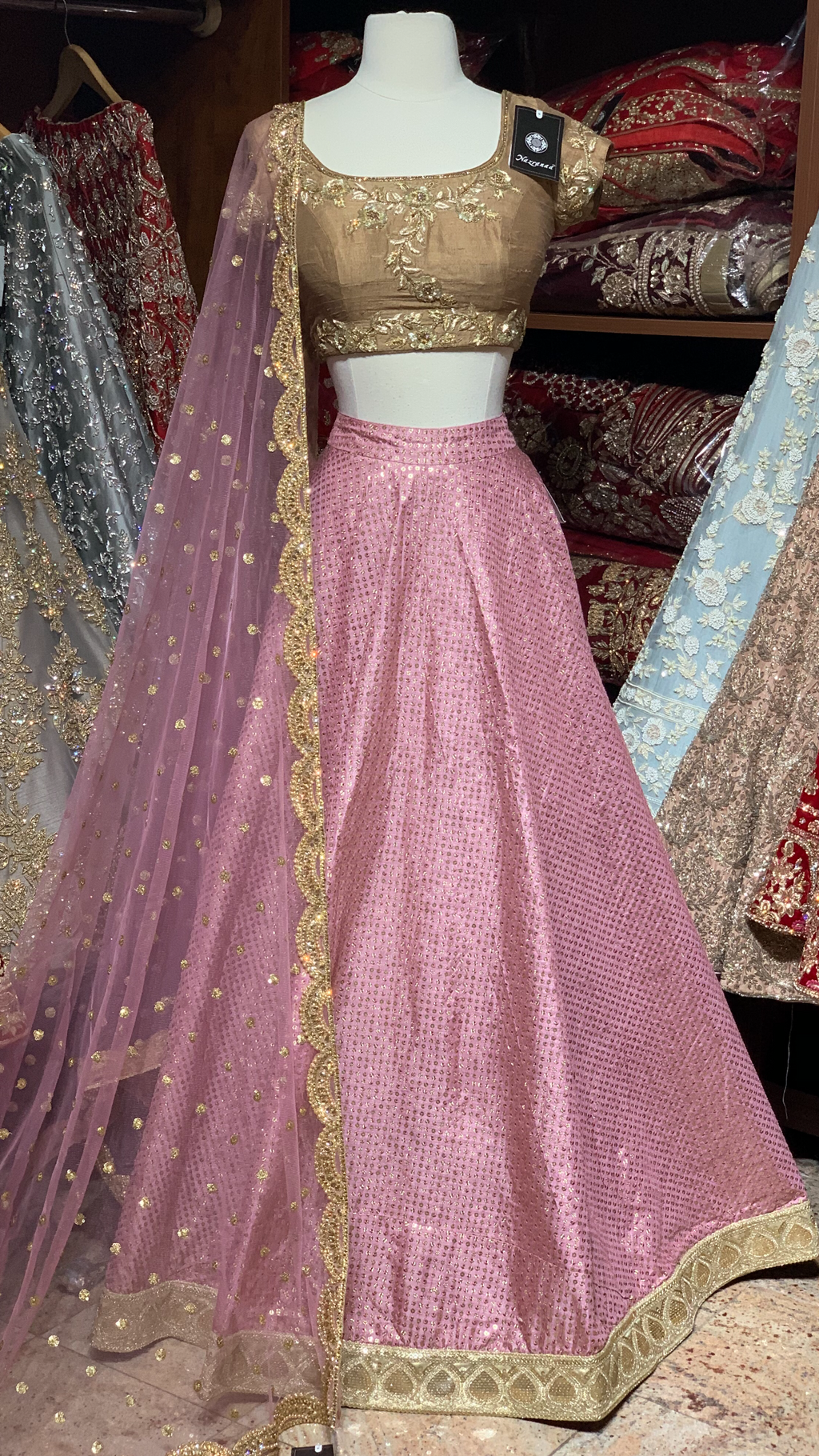 The Zarina lehenga-PW10