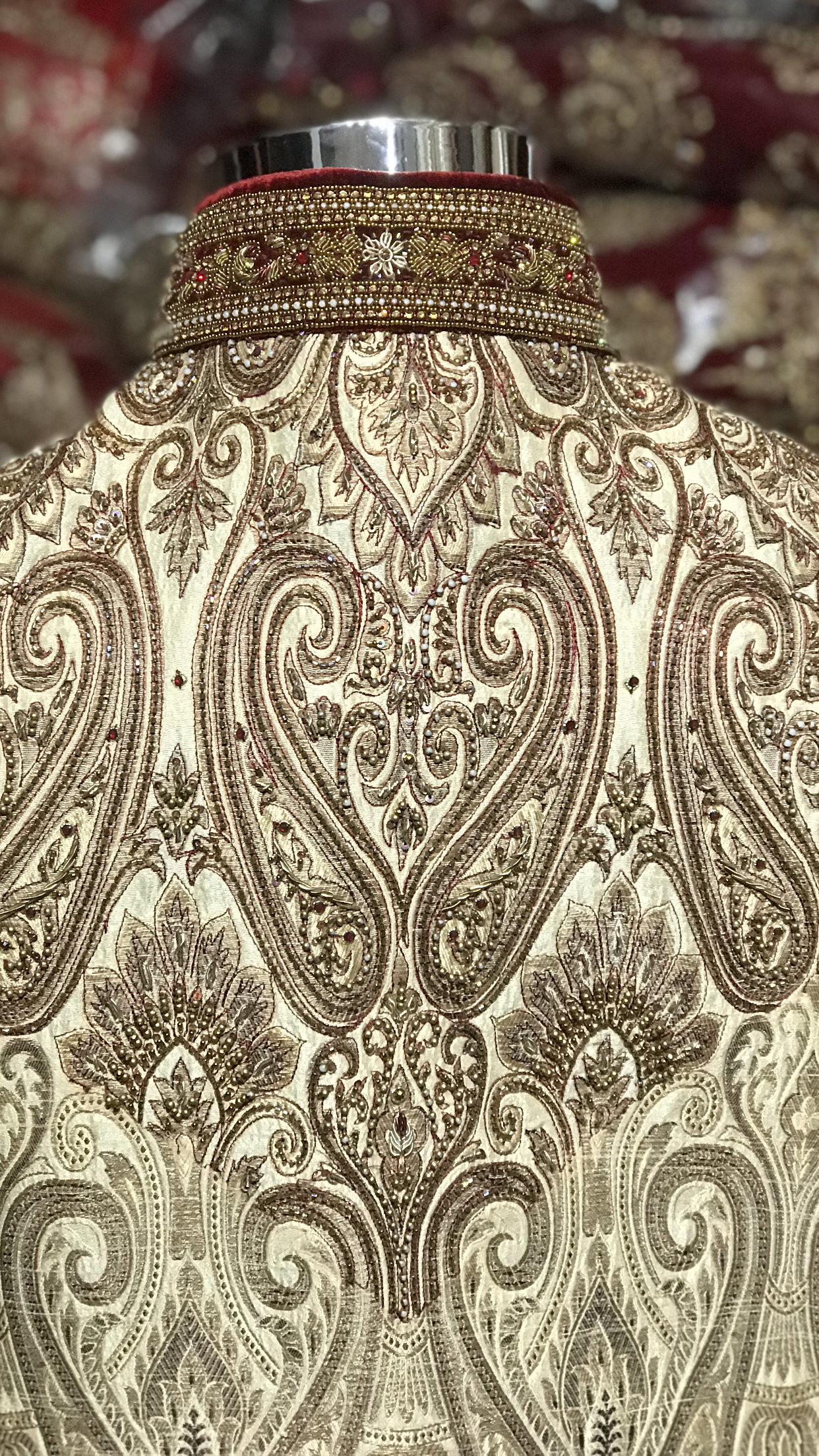 Double Layer Sherwani