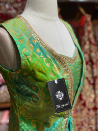 Kelly Green Party Wear Suit Collection PWS-050