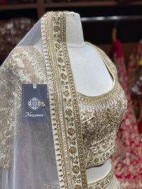 Timeless Ivory Bridal Wear Lehenga BWL- 098
