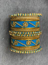 Velvet Traditional bangles, Indian Jewelry