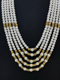 Groom's moti mala/Sherwani necklace