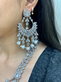 Amala Silver Bridal Set