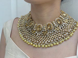 Ila Gold Kundan Bridal Set