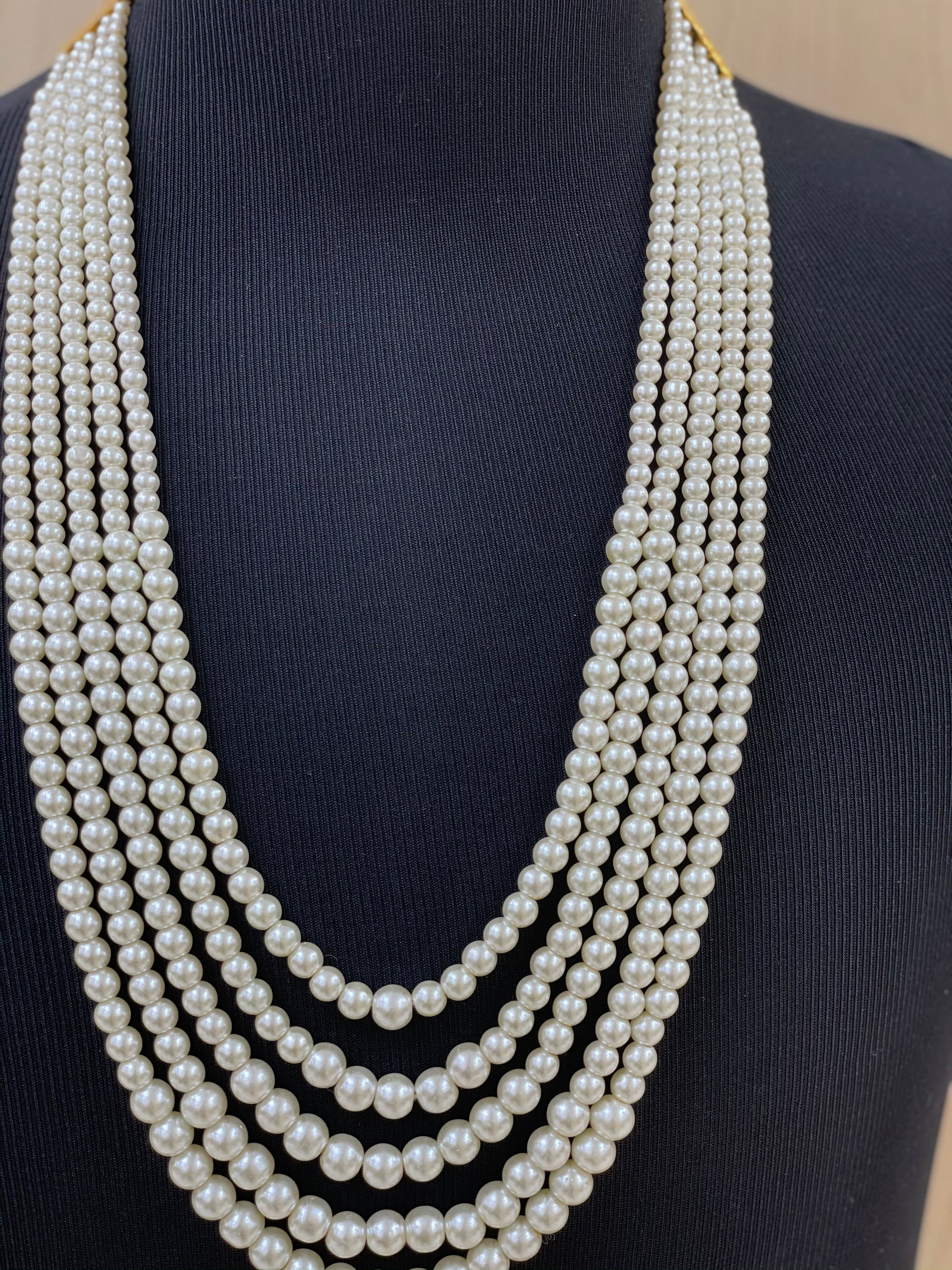 Groom's Shahi Moti Necklaces