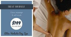 1 Hour Massage & Salt Scrub (LIMITED TIME DEAL)