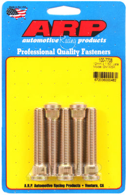 "ARP 2.5"" Long Wheel Stud Set, M12-1.25 for C5-C6-C7 Corvette"