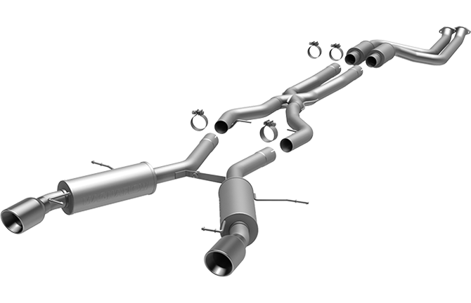 BMW E9X 335i Sedan Magnaflow Sport Series Cat-Back Exhaust System