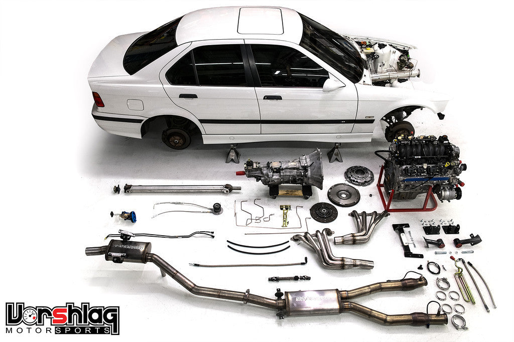 Bmw E36 Lsx Swap on t56 vs magnum