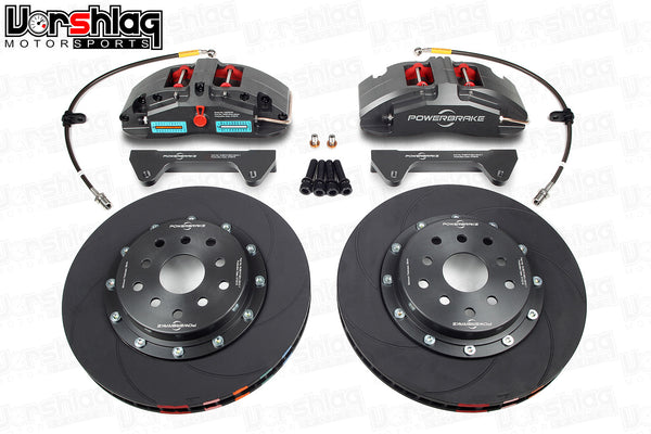 Powerbrake X-Line X4ES 4-piston / 325x28mm Front Brake Kit for BRZ/FRS (Race)