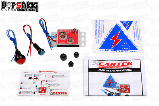CARTEK Solid State Battery Isolator, GT