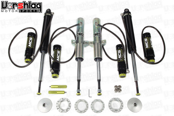 MCS RR2 Remote Double Adjustable Monotube Dampers (BMW E46)