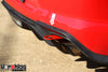 S550 Mustang Rear Tow Hook - Red