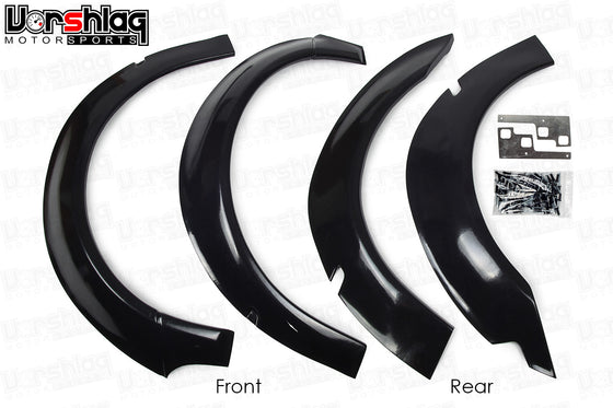 HARD Motorsport BMW E46 M3 Fender Flares for E46 Coupe Non-M