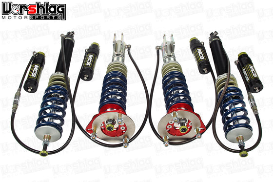MCS RR2 Remote Double Adjustable Monotube Dampers (Mitsubishi EVO X)