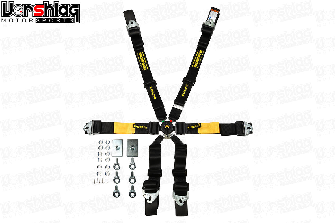 Schroth Enduro 2X2 FHR 6-Point Harness