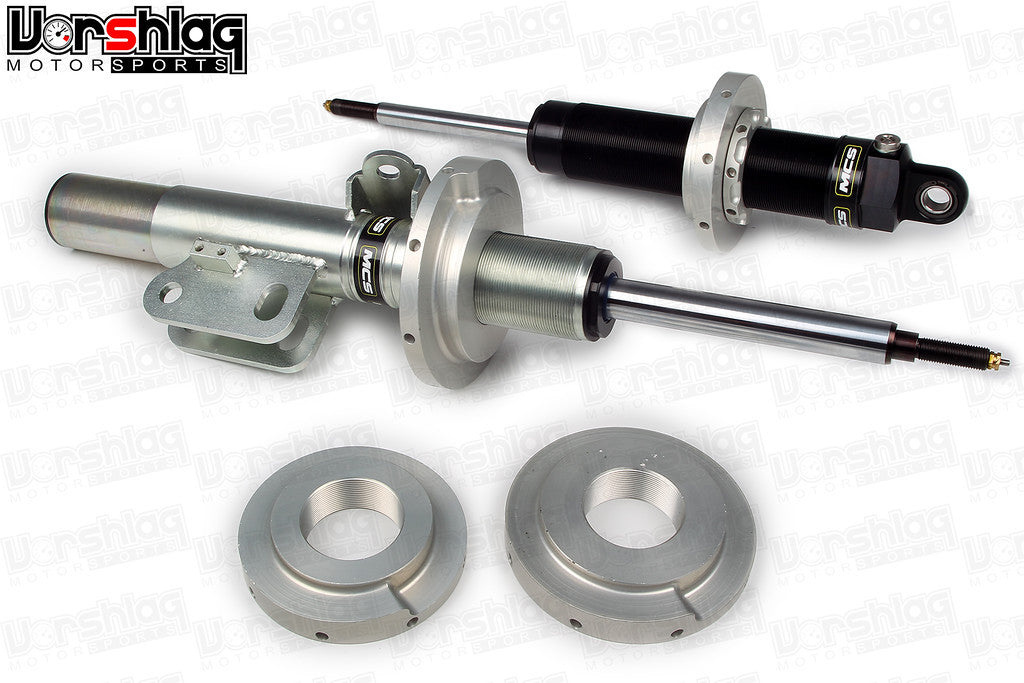MCS TT1 Single Adjustable Monotube Dampers (Subaru BRZ/FRS) SCCA STOCK CLASS