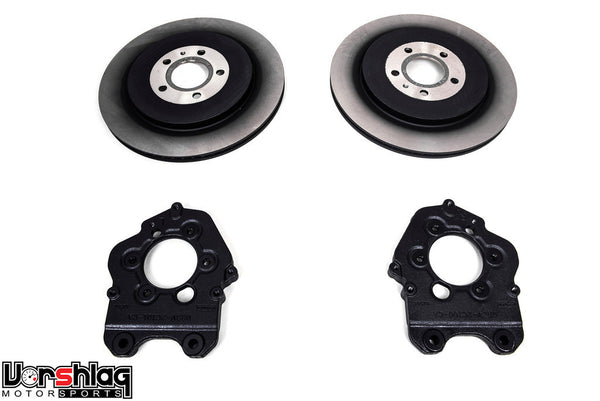 "S197 Mustang 13.8"" GT500 Rear Brake Upgrade Kit [A9-2035]"