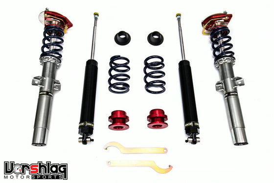 MCS TT2 Internal Double Adjustable Monotube Dampers (BMW E46)