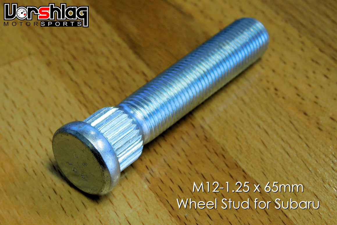 Vorshlag 65mm Long Wheel Stud, M12-1.25 for Subaru