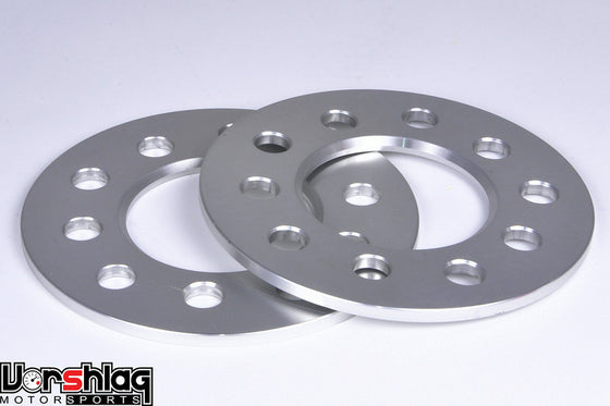 "Vorshlag 1/4"" (6mm) Wheel Spacers, 5x4.5 or 5x4.75 bolt pattern (pair)"