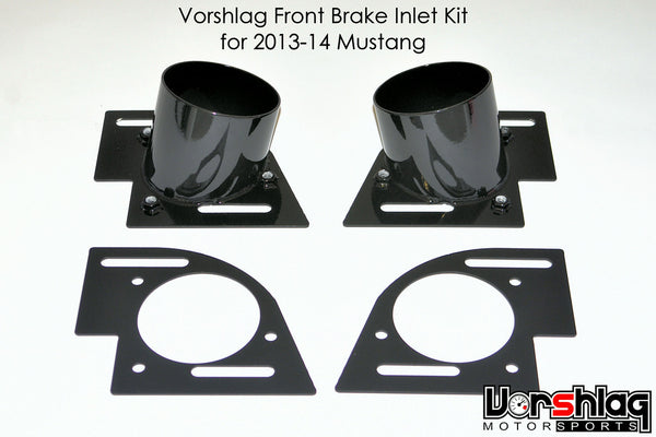 "Vorshlag 3"" Brake Inlet Cooling Kit for 2013-14 Mustang GT/Boss302"