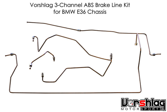 Vorshlag E36 LS1 3-Channel Brake Hard Line Kit
