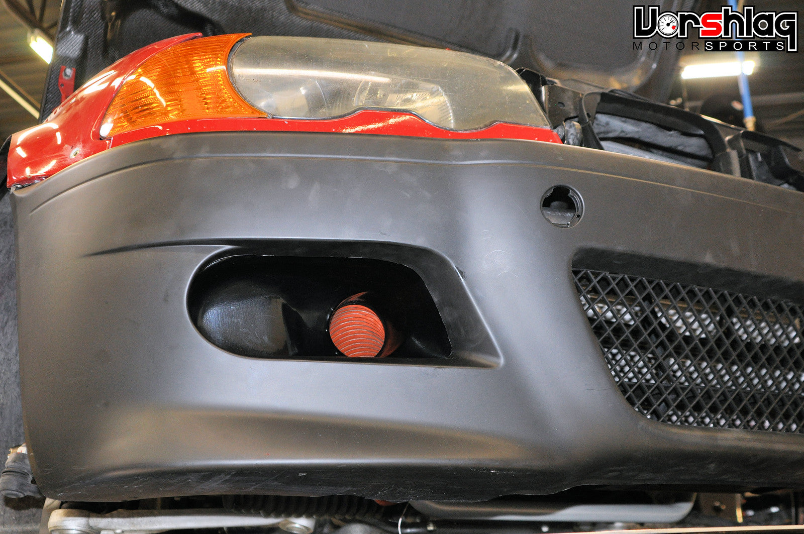 Hard Motorsport Brake Duct Inlets And Fog Light Delete