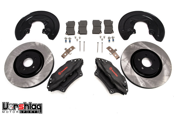 "S197 Mustang 14"" Brembo Front Brake Upgrade Kit [A9-2036]"
