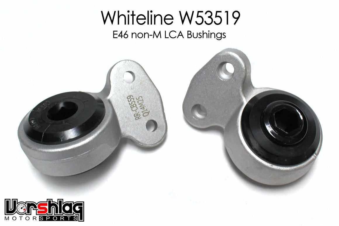 Whiteline Front Control Arm bushings for BMW E46 non-M