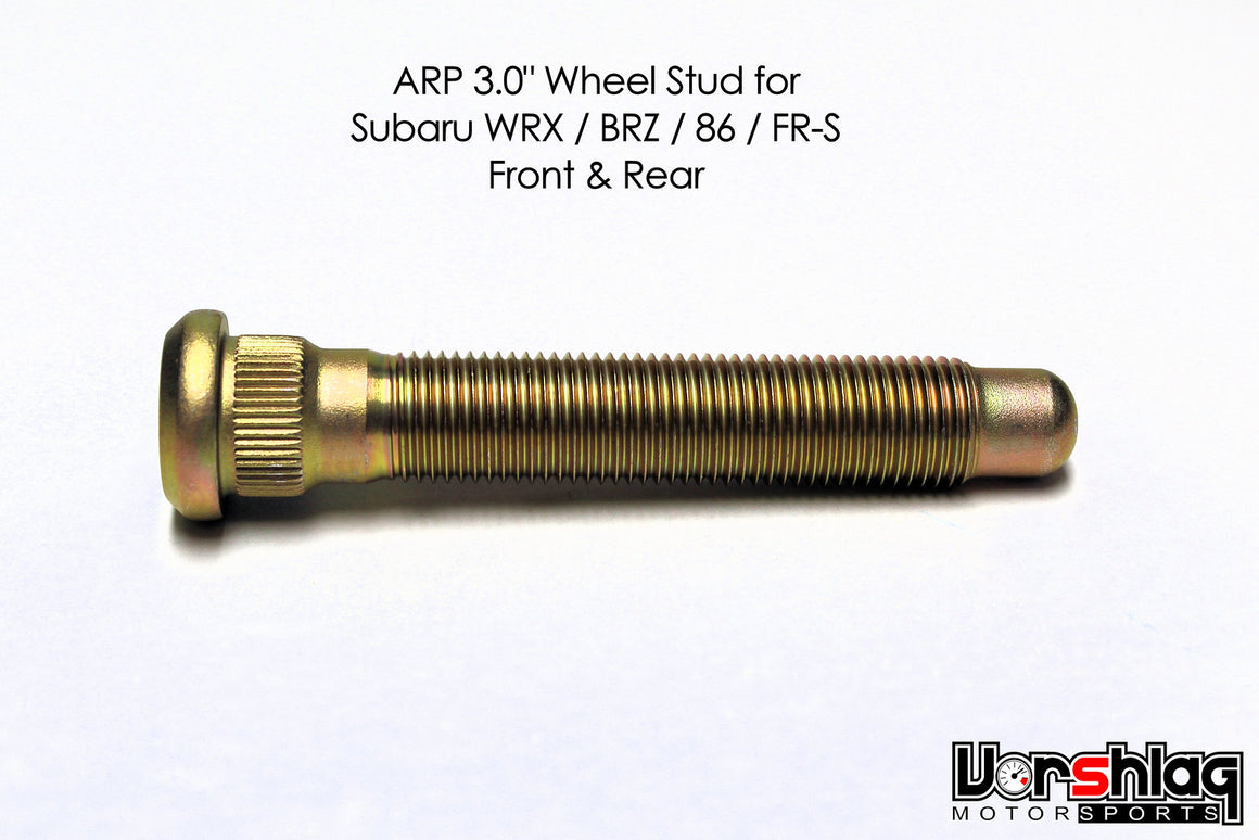 "ARP 3.0"" Long Wheel Stud, M12-1.25 for Subaru / 86"