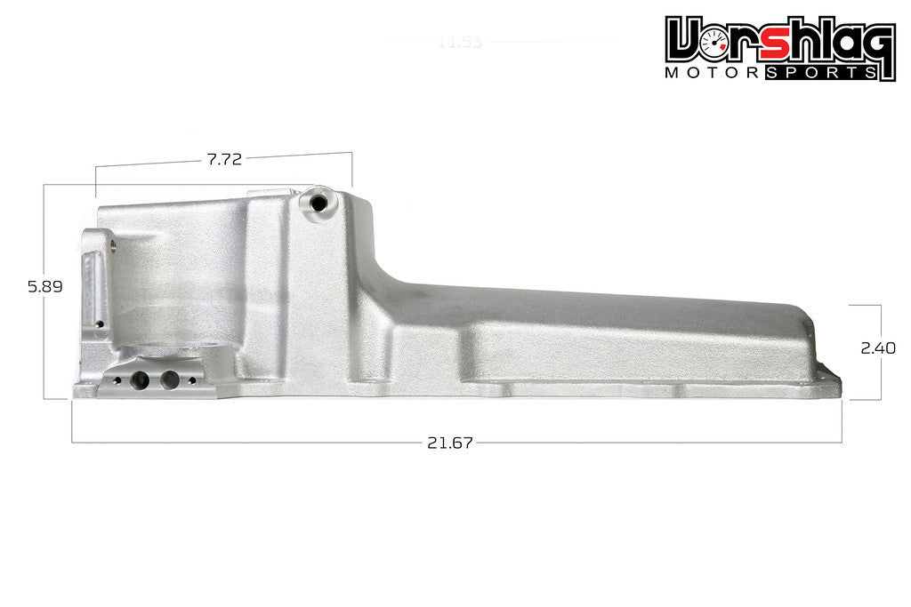 Holley LSx Oil Pan Kit for BMW E46 LSx Swap