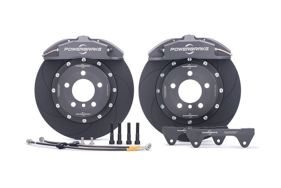 Powerbrake X-Line X4EM 4-piston / 330x32mm Front Brake Kit for BRZ/FRS (Race)