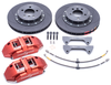 Powerbrake S-Line S6EM 6-piston / 330x32mm Front Brake Kit for BRZ/FRS (Street)