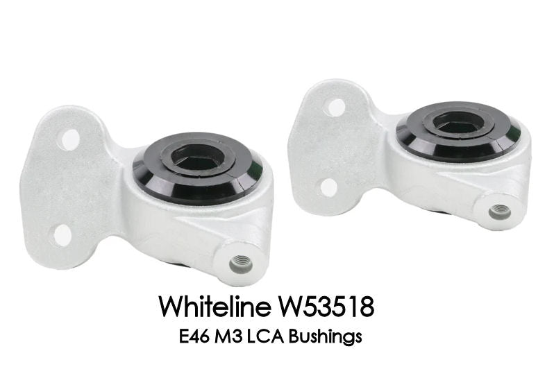 Whiteline Front Control Arm bushings for BMW E46 M3