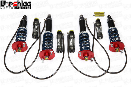 MCS RR2 Remote Double Adjustable Monotube Dampers (NA/NB Miata)