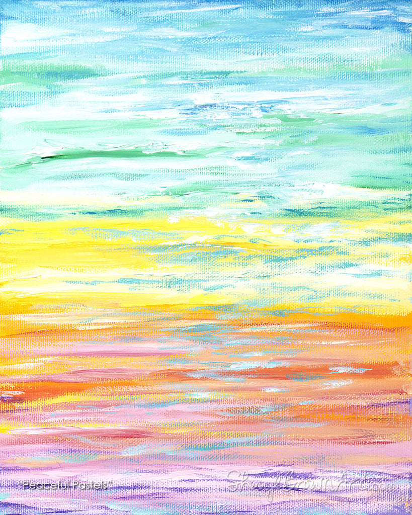 Peaceful Pastels