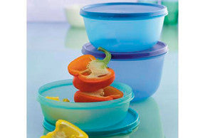 Tupperware Space Saver Bowls - Large Set