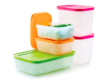 Tupperware Freezer Mates Starter Set