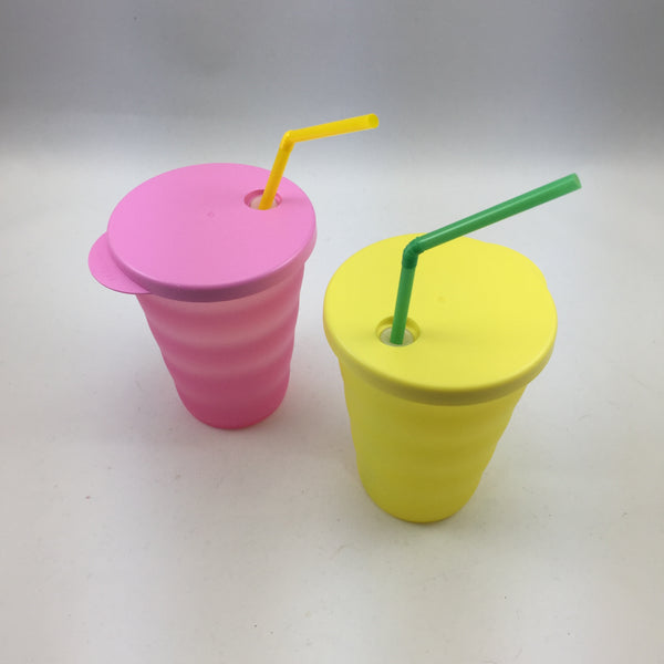 Tupperware Straw Tumblers