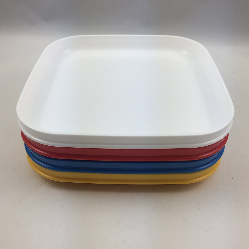 ... Tupperware Vintage Square Plates Picnic or Activity / Craft & Tupperware Vintage Square Plates Picnic or Activity / Craft \u2013 The ...